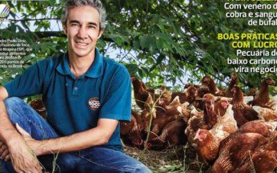 Por dentro da Toca: revista Globo Rural dá panorama de nosso trabalho na Fazenda