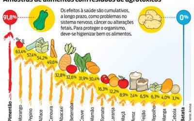 Convencional X Orgânico Quais são os alimentos com maior concentração de agrotóxicos e que devem ser evitados?