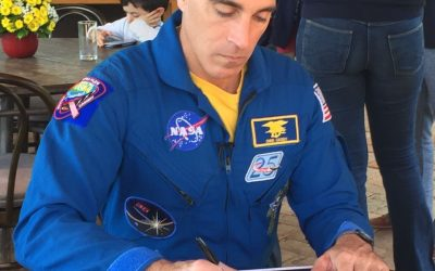 Fazenda da Toca recebe astronauta da NASA para bate-papo
